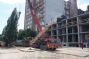 Новости строительства: началась подготовка к установке башенного крана